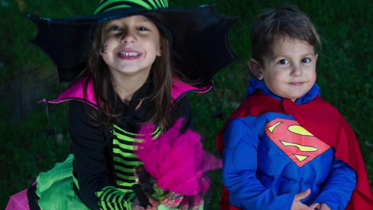 Cute kids in cute Halloween costumes  sc 1 st  YouTube & Cute kids in cute Halloween costumes - YouTube