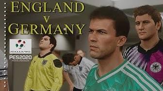 PES 2020 -  Italia '90 - West Germany v England