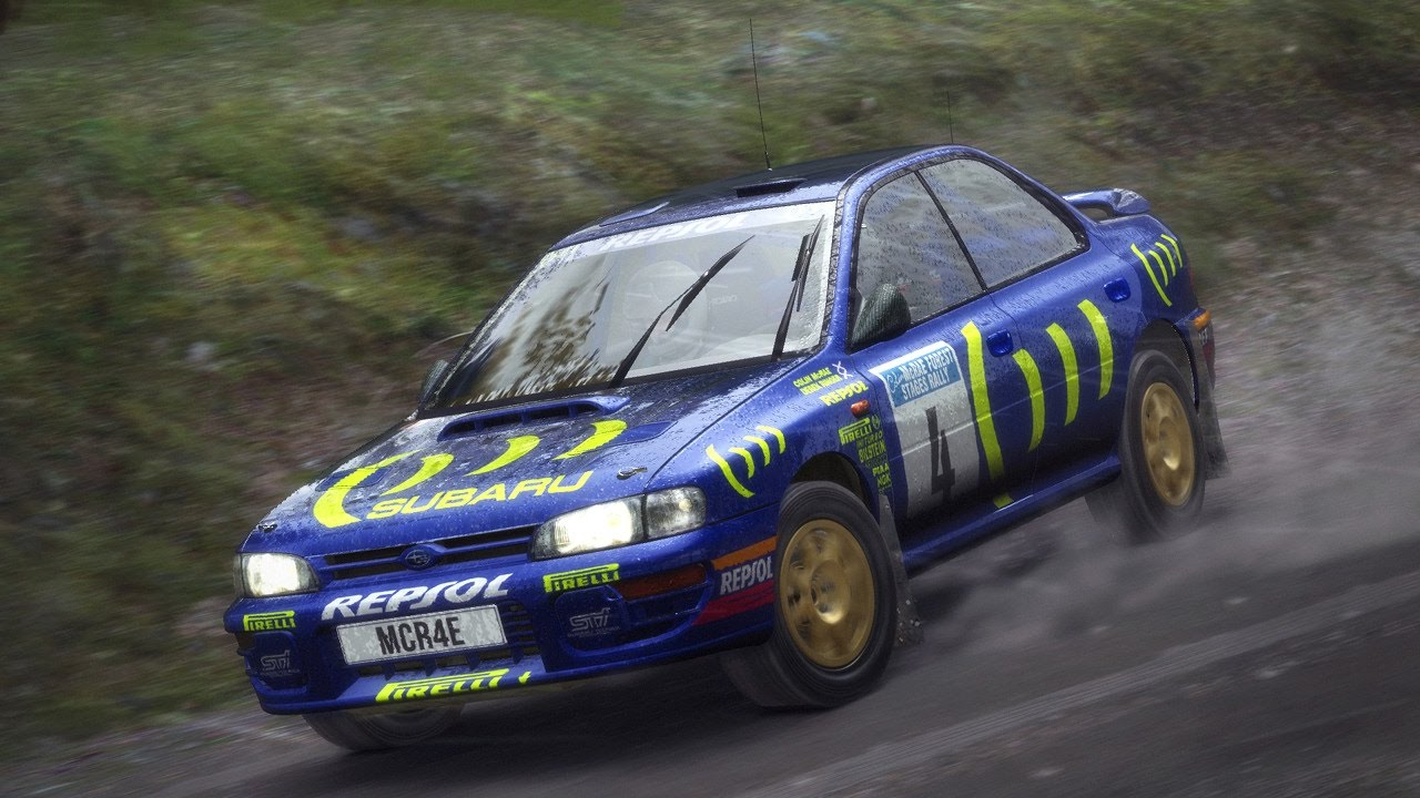 ps4 dirt rally gameplay finland subaru impreza 1995. Black Bedroom Furniture Sets. Home Design Ideas