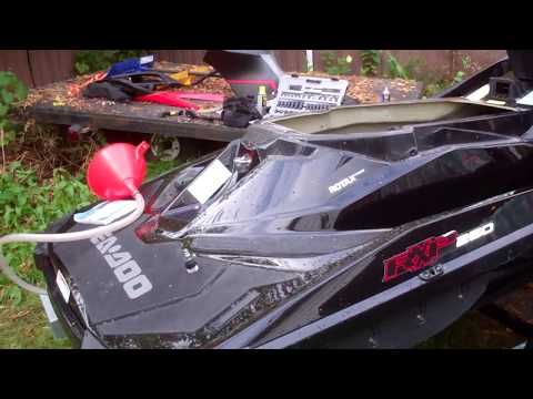 2014 Seadoo RXPX 260 Checking Supercharger While