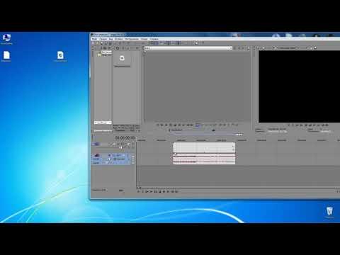 Как отделять и перемещать несколько отрезков разных частей видео в Sony Vegas Pro