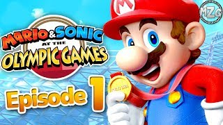 Mario & Sonic at the Olympic Games Tokyo 2020 Gameplay Part 1 - Story Mode! Chapter 1, 2, & 3!