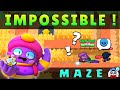 Gambar cover Most IMPOSSIBLE Maze To Complete In Brawl Stars   Brawl Stars Map Maker