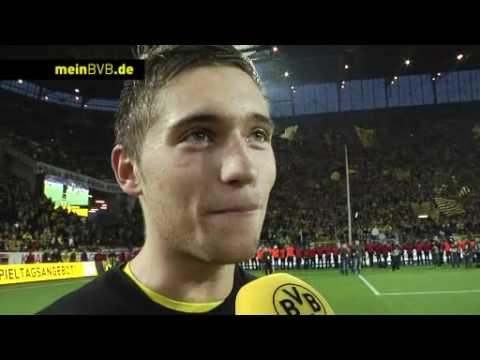 BVB -Gladbach: Interview mit Moritz Leitner zum Gewinn der Meisterschaft