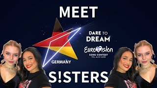 """Road to Eurovision Song Contest 2019: Germany with Sisters (S!sters) """"Sister"""""""
