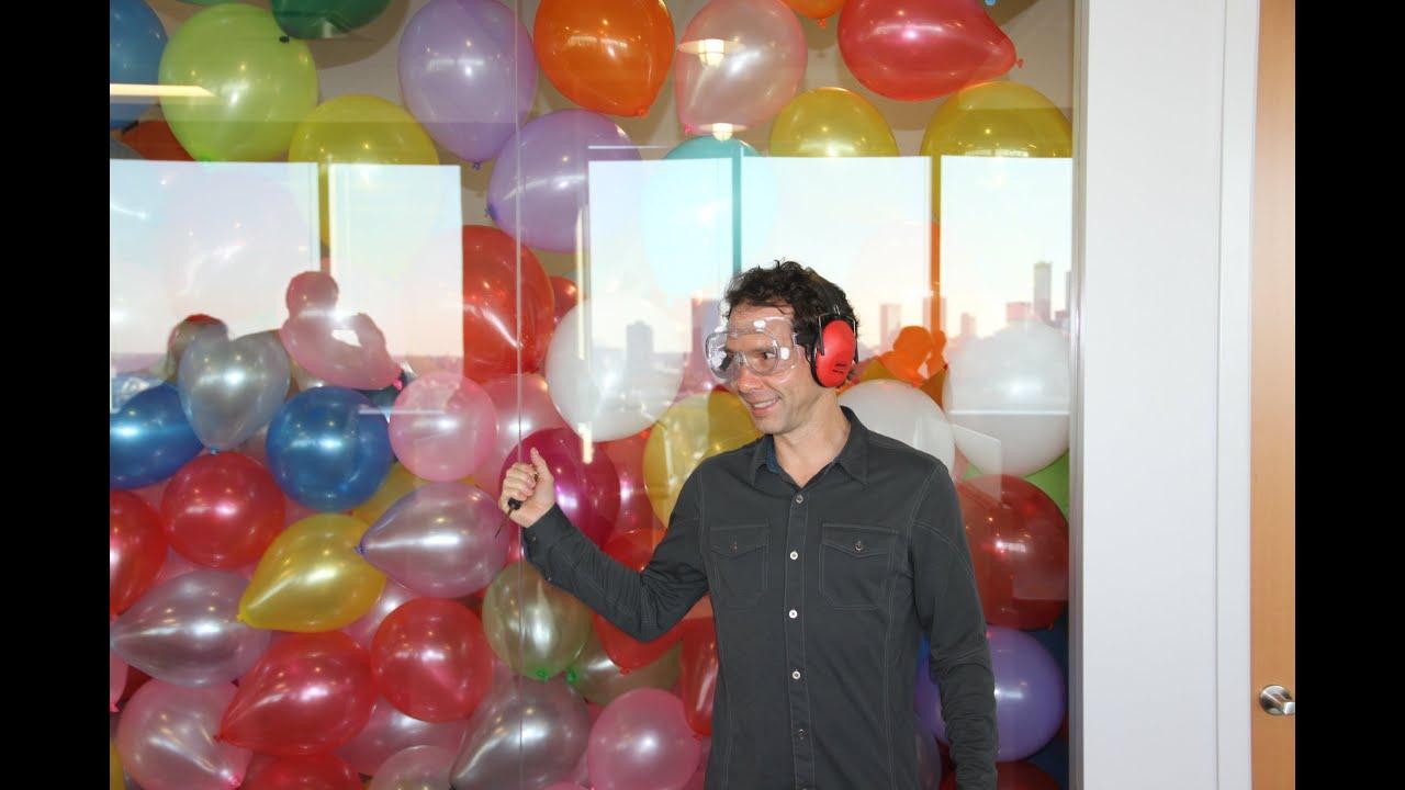 Balloon Office Prank - YouTube