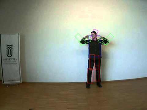 Human Pose Detection with Pictorial Structures