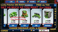 How to Hack Jurassic World The Game (With Proof) (No Root)
