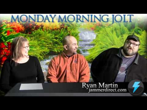 Multimedia Content Developer Ryan Martin on Monday Morning JOLT www.mmjolt.com