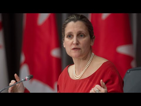 Freeland 'disturbed' by decision to keep Vice-Admiral Baines after he golfed with Vance