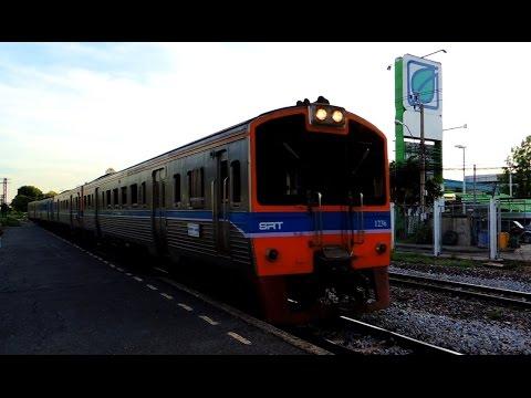 รถไฟไทย # ขบวนรถดีเซลราง ชานเมืองที่ 317 กรุงเทพฯ - ลพบุรี State Railway of Thailand