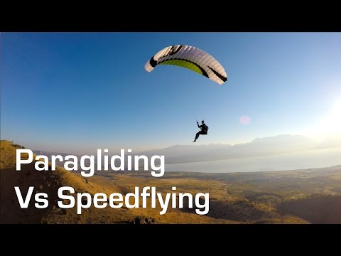Paragliding vs Speedflying