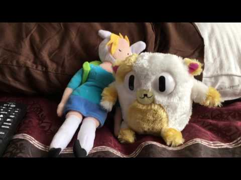 Plush Adventure Time: Fionna & Cake Behind The Scenes Bloopers