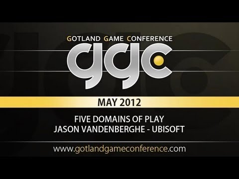GGC 2012 - The Five Domains of Play