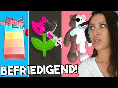 Ich teste EXTREM befriedigende Games! Trigger garantiert! Jelly Dye uvm.