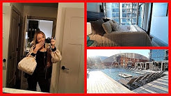 TOURING APARTMENTS IN DALLAS   Vlogmas Day 18