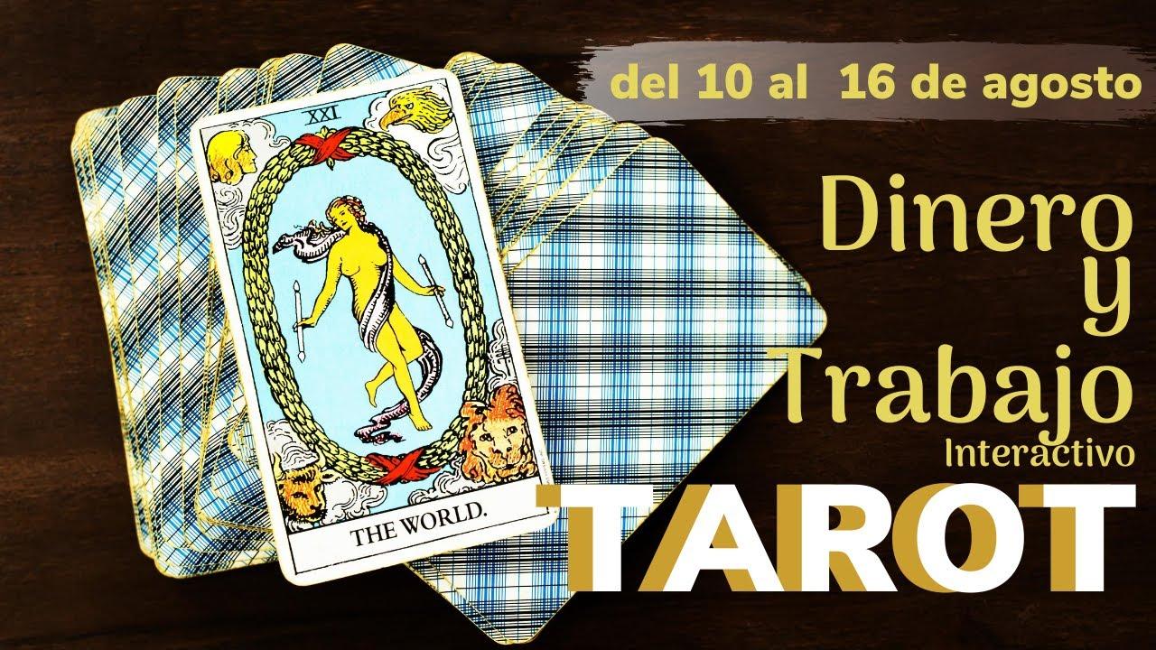 Dinero💸 y Trabajo - Tarot Tortuga🐢 - Interactivo- del 10 al 16 de agosto de 2020✨