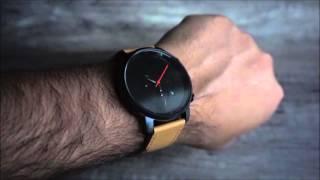 MVMT CHRONO BLACK/TAN LEATHER WATCH REVIEW (HD)