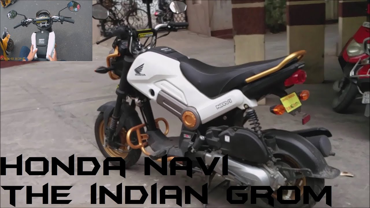 Honda Navi The Indian Grom Review