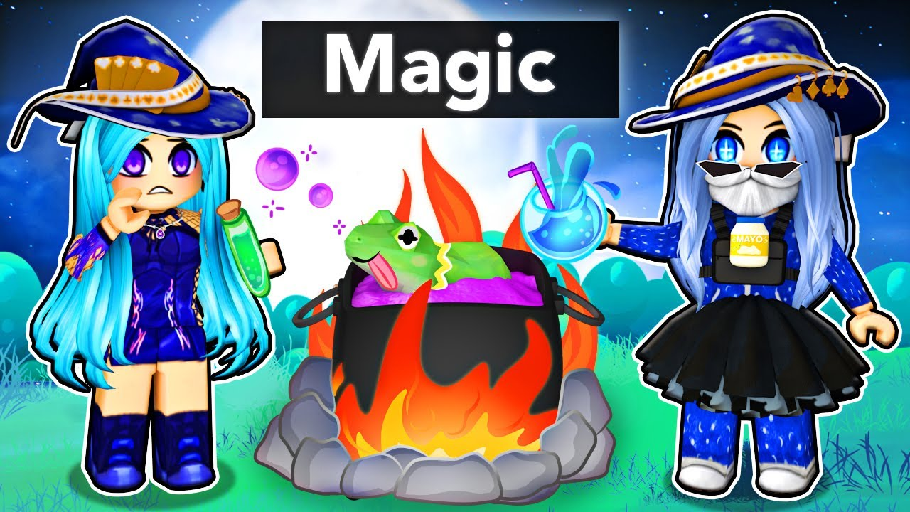 Download Playing with MAGIC Potions in Roblox!