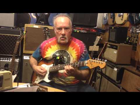 Owner Mike Van Voor Hees Description of 1983 Stratocaster Smith Guitar