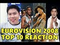 Eurovision Song Contest 2008 : TOP 10 FAVORITES