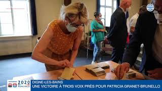 Municipales à Digne-les-Bains : une victoire à trois voix près pour Patricia Granet-Brunello