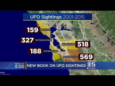 New Book Finds California Claims Most UFO Sightings In U.S.