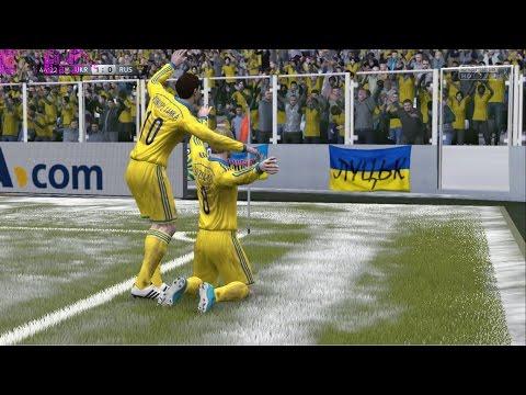 FIFA 15 - СБОРНАЯ УКРАИНЫ + УПЛ