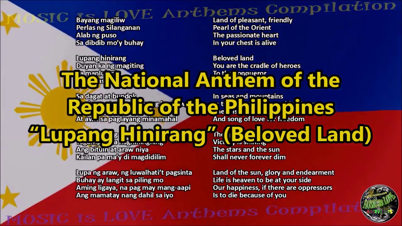 National Anthem Of The Philippines Lagu MP3 & MP4 Video ...