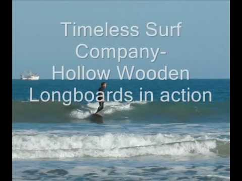 Hollow Wood Surfboards in action-Timeless Surf Co