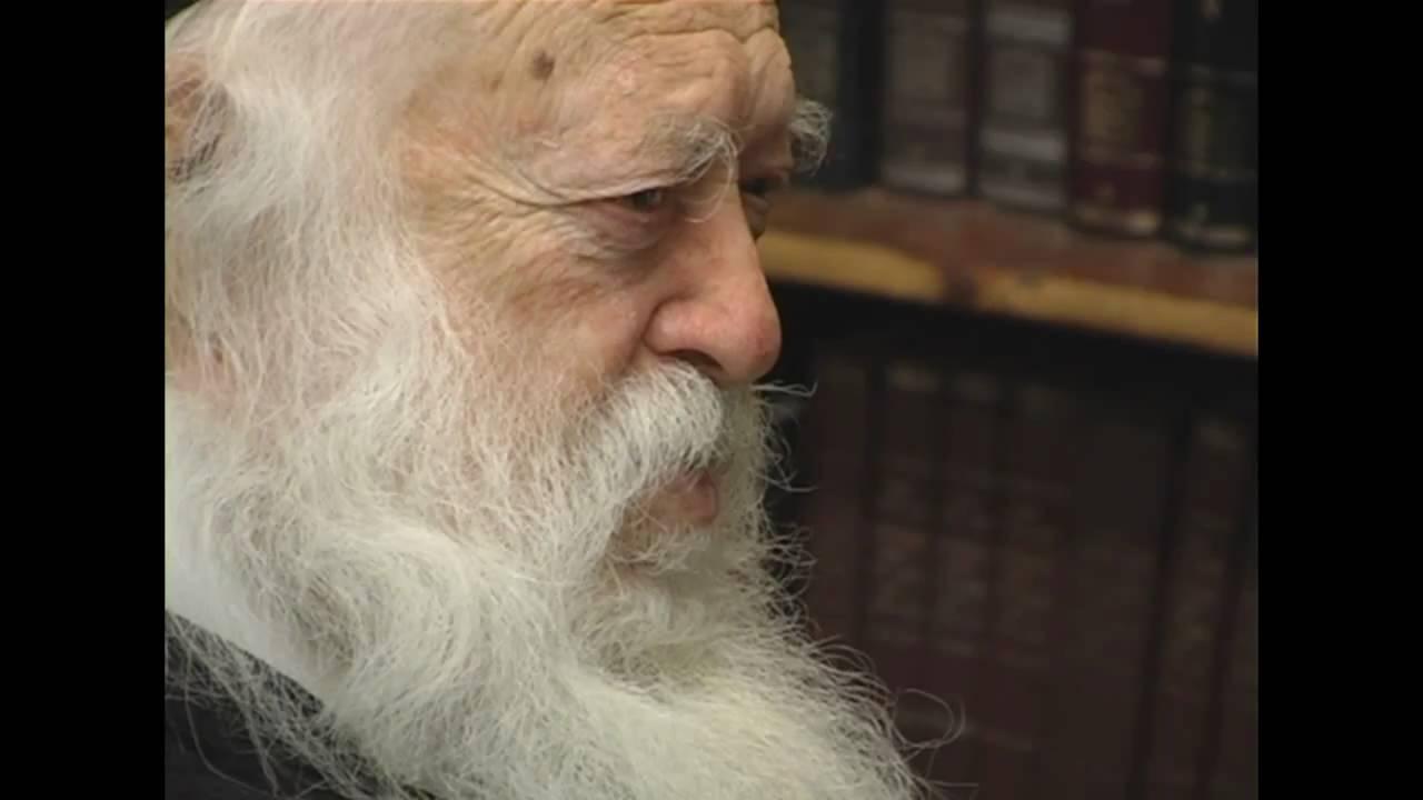 הרב חיים קנייבסקי  מברך-Rav Chaim Kanievsky