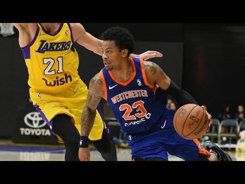 Trey Burke Pre-Showcase NBA G League Season Highlights