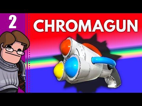 Let's Play ChromaGun Part 2 - Color-Blending Leapfrog