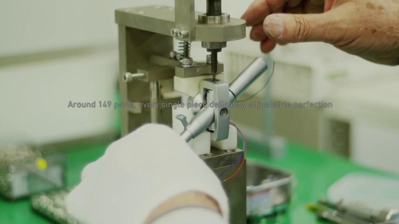 Making Off de la nouvelle Platine Technics SL-1200 SL-1210 MK2 GR !