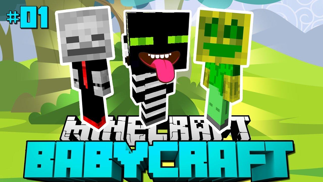 Die Ausbruchsfreunde Minecraft Babycraft 01 Deutsch Hd Youtube