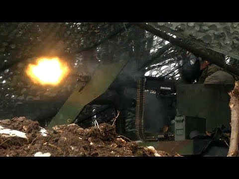 50 Cal range and MOCK FIREFIGHT! (Latest U.S. Army LIVE FIRE training exercise 'VANGUARD 360'!)