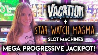 AWESOME!! MEGA PROGRESSIVE JACKPOT! Starwatch Magma Slot Machi…