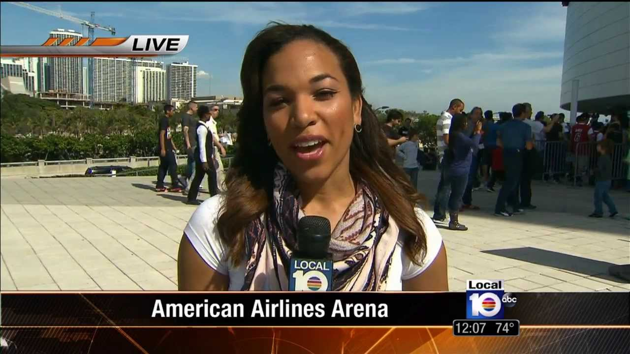Mj Acosta Miami Heat Vs Spurs Pre Game Show Youtube