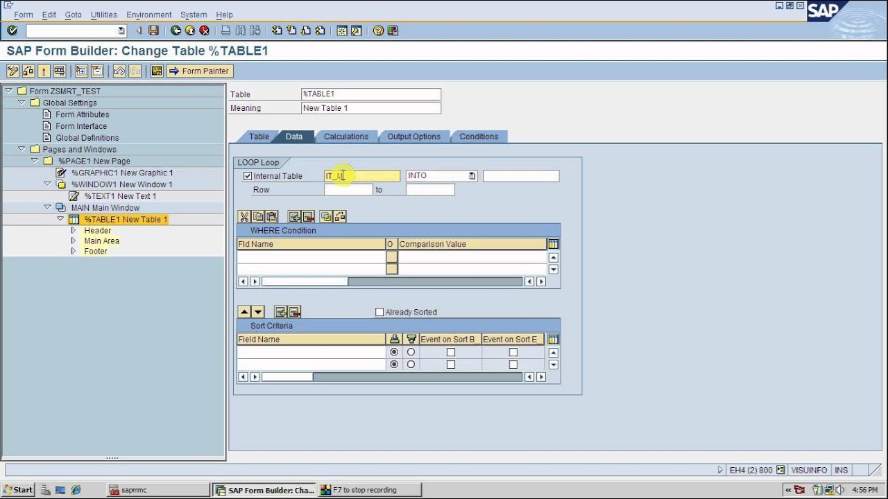 SAP ABAP SMART FORMS - YouTube