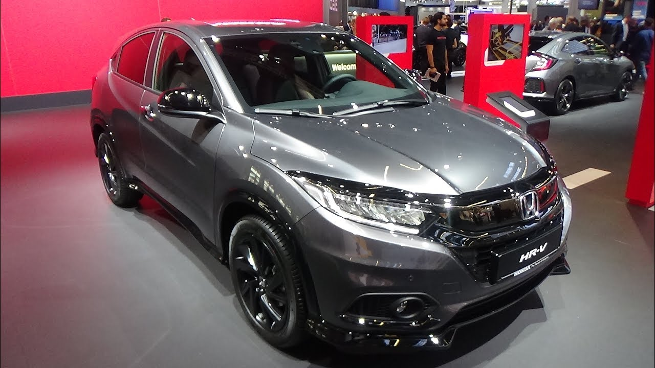 2020 Honda Hr V News Design Specs Price >> 2020 Honda Hr V 1 5 Vtec Turbo Sport Exterior And Interior Iaa Frankfurt 2019