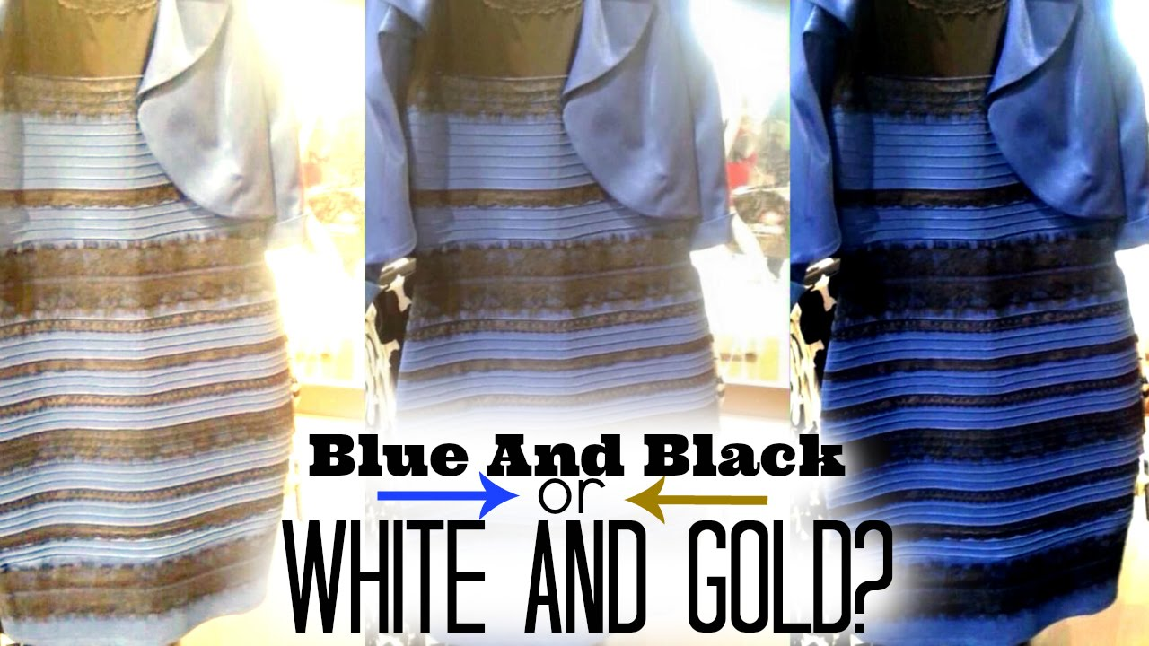 9 Theories Behind The White And Blue Or Black And Gold