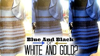 9 Theories Behind Black And Blue or White And Gold Dress