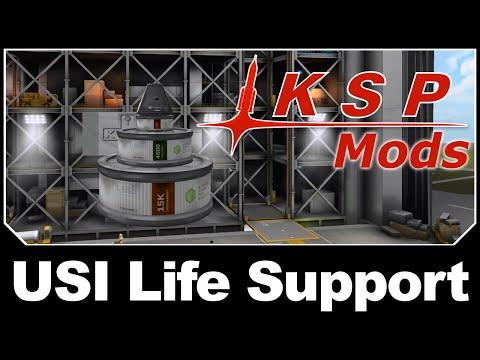 KSP Mods - USI Life Support