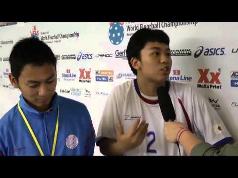 U19 WFC 2013: Interview with Michio Yamashita (Japan)