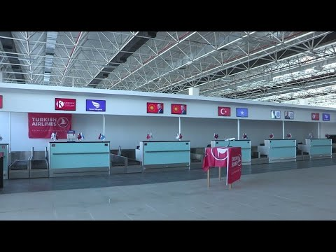 Mogadishu Aden Adde international airport, Mogadishu City of Somalia 2018