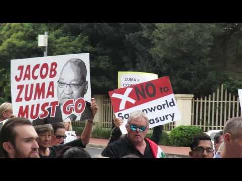 Zuma Must Fall March Sandton