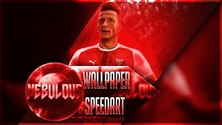Marco Reus Arsenal Kit SpeedArt - Photoshop CC