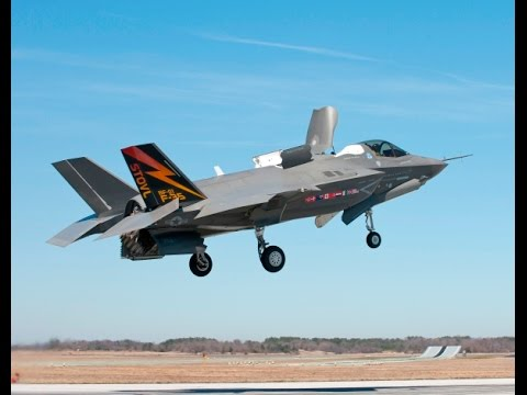 F 35 Takeoff and Vertical Landing
