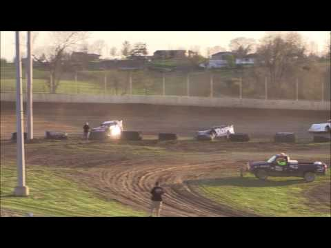 Super Late Model Heat #2 from Florence Speedway, April 8th, 2017.